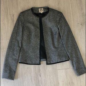 Anne Klein tweed blazer size 2